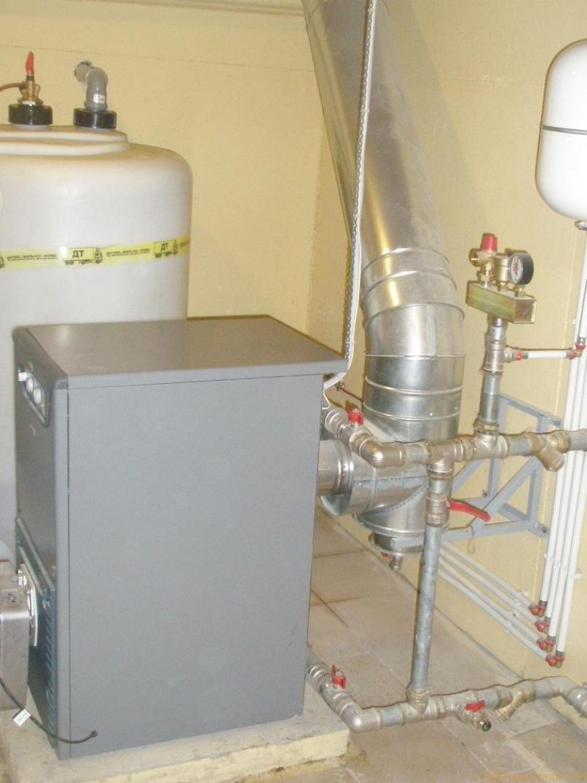 обвязка дизельного котла отопления
