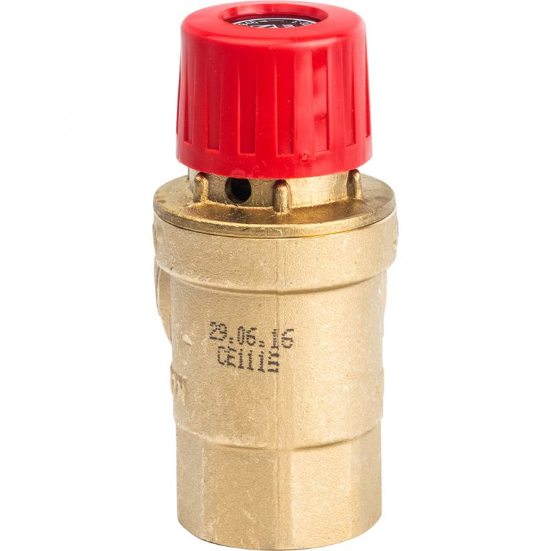 Аварийный клапан сброса давления в системе отопления
