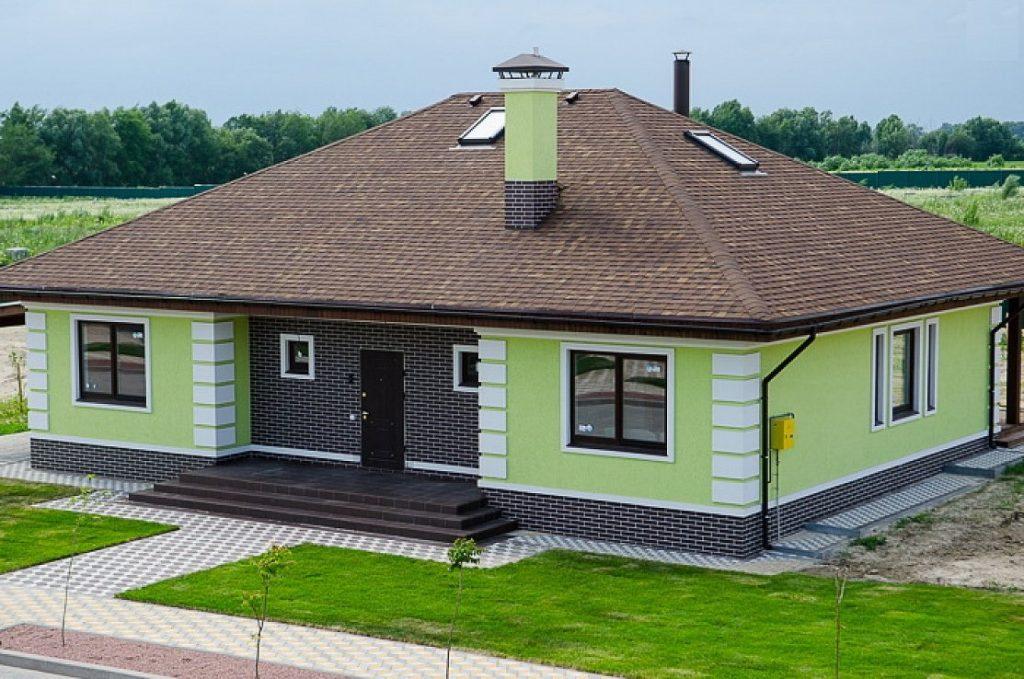 доставляет крашеные фасады домов фото того