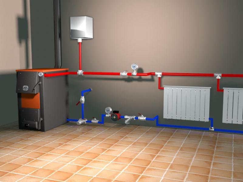 Монтаж систем отопления в квартире