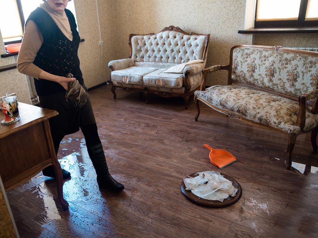 как высушить дом