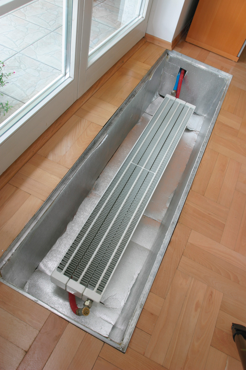 Как подключить батарею отопления с нижним подключением