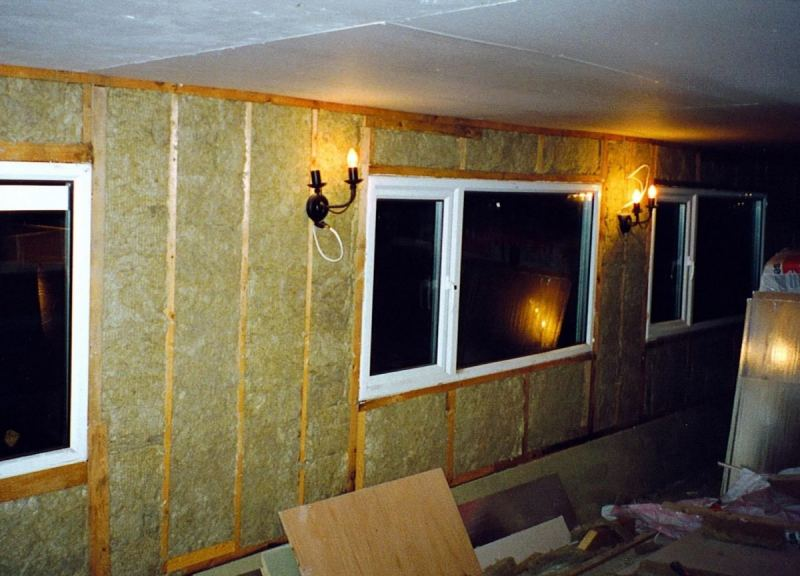 теплоизоляция внутри квартиры